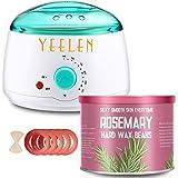 【Tea Tree Essential Oil】Yeelen Wax Warmer Essential Hard Wax Hair Removal Kit Electric