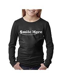 Smile More Youth Long Sleeves T Shirt Shirts