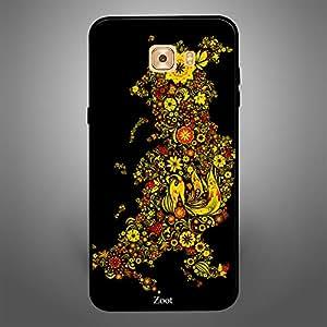 Samsung Galaxy C9 Pro Yellow Flowers