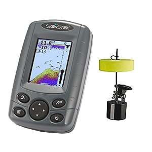 Signstek FF-003 Portable Fish Finder Outdoor Fishing Tool Sonar Sensor Boat Depth Locator With LCD Display