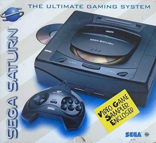 Sega Saturn System - Video Game Console (Renewed)