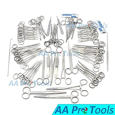 Aa Pro 126 Pcs Canine+feline Spay Pack Veterinary Instruments A+ Quality