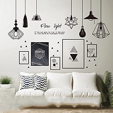 Genial Magical Home Nordic Style Stickers, Wall Decoration Sea Newspaper 3D Wall  Paintings Wallpaper Bedroom Wall