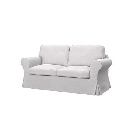 Ikea Divani 2 Posti.Soferia Ikea Ektorp Fodera Per Divano Letto A 2 Posti Naturel