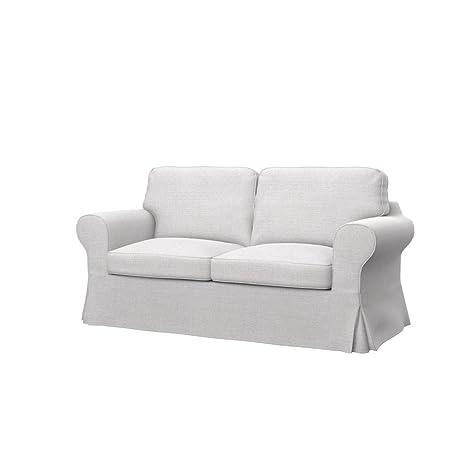 Soferia - IKEA EKTORP Funda para sofá de 2 plazas, Naturel ...