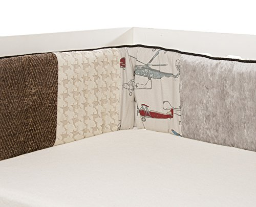 Glenna Jean Fly-By Bumper, Taupe/Grey/Blue/Brown/Red
