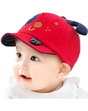 Sweetfruit® Baby Boys Cute Dog Puppy Ear Sunhat Baseball Cap
