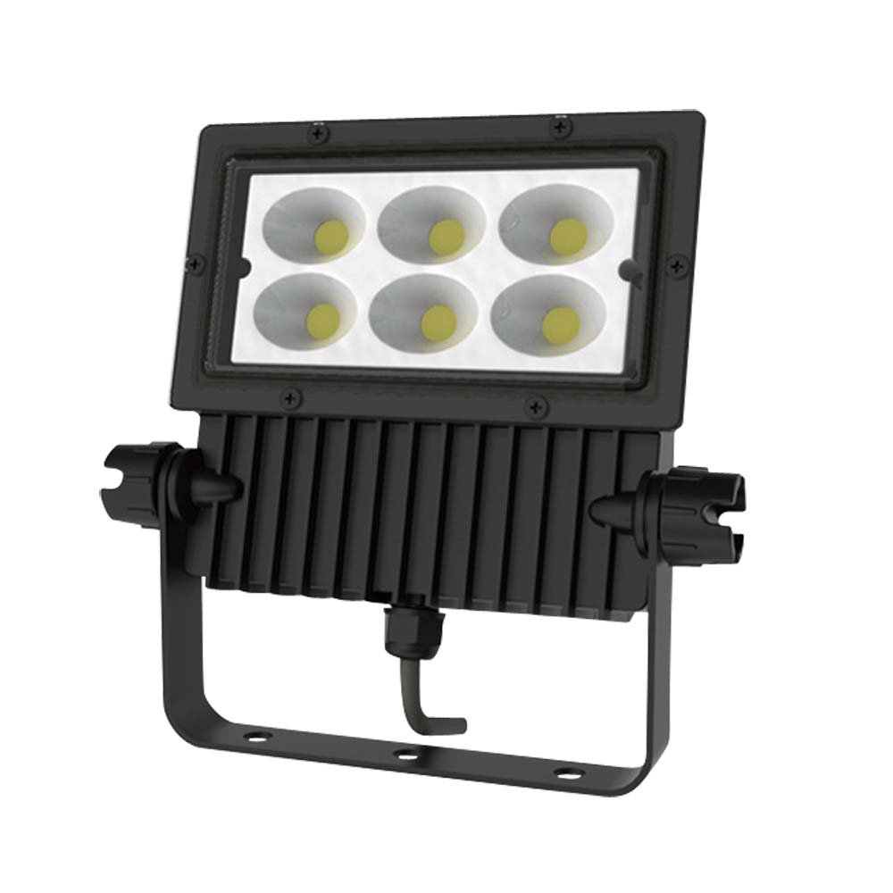 アイリスオーヤマ 屋外LED照明 角型投光器68W 4400lm ブラック IRLDSP75L-N-BK 事 B00R3RQQGU 16000  ブラック
