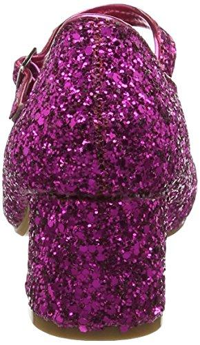 Spot on Mädchen H3057 Mary Jane Halbschuhe Pink (Fuchsia)