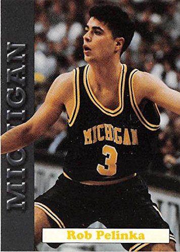 Rob Pelinka basketball card (Michigan Wolverines Fab Five NCAA Final Four) 1992 MWFF #11