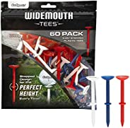 """GoSports 3.25"""" Widemouth Stepped Plastic Golf Tees 