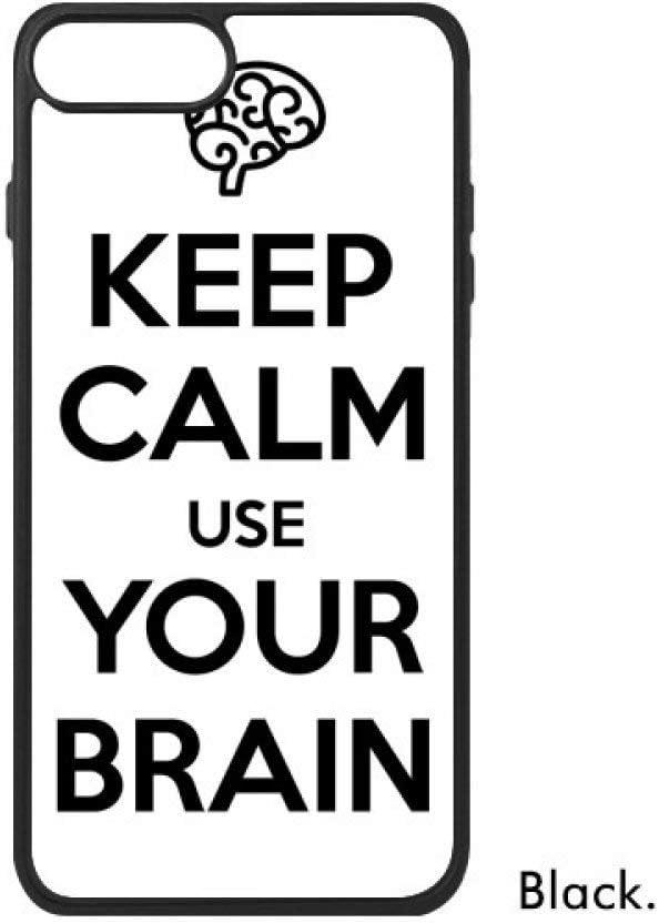 DIYthinker Cita Guarde la Calma y Utiliza su Cerebro phonecase ...