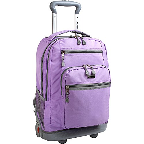 UPC 837309302487, J World New York Sundance II Rolling Backpack (Orchid)