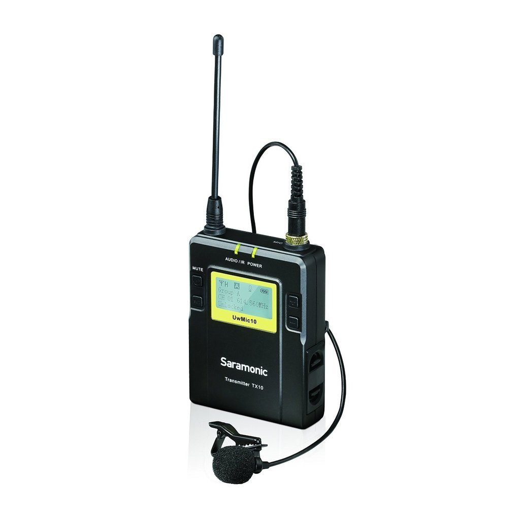 Saramonic sr-mic10-tx Sistema UHF Wireless TX10/Nero