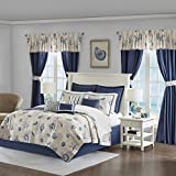 Madison Park Fairhaven 24 Piece Coverlet Room in a Bag Blue King
