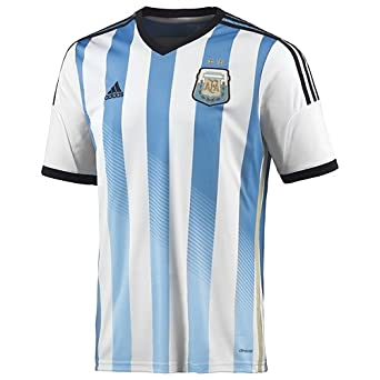 Amazon.com : ARGENTINA HOME AUTHENTIC SOCCER JERSEY WORLD ...