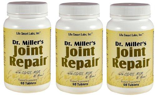Joint Repair 3 Dr Miller achetés par des gens qui désirent Joint Pain Relief, 180 Pilules, Haute Puissance: Comprend Glucosamine, MSM, chondroïtine et plus, réparation Joint Doctor Miller