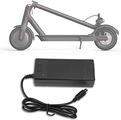 Haofy Cargador de Bater/ía Cargador El/éctrico Scooter Cargador 42V 2A Reemplazo de Adaptador para Xiaomi Mobility Scooter//Silla de Ruedas el/éctrica//Golf Buggy Charger Fuente de Alimentaci/ón