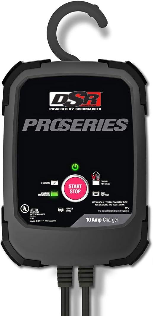Schumacher DSR117 DSR Pro Series 10A 12V Battery Charger