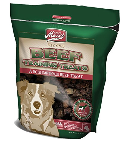 Merrick Beef Training Treats - Merrick 5-Ounce Beef Canine Training Treats, 1 Bag