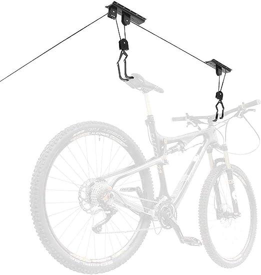 Elevador de techo de bicicleta Soporte de bicicleta Carga de 50 kg ...