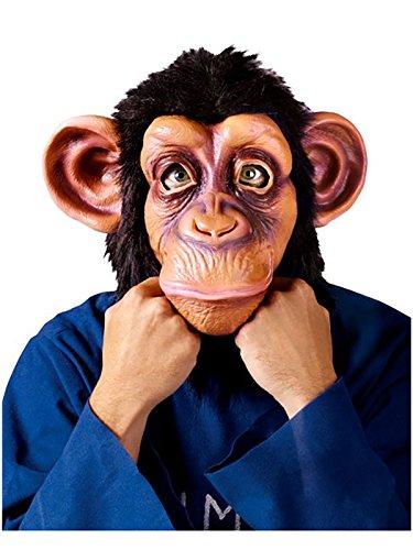 Chimpanzee Mask Costumes Adult (Adult Chimpanzee Mask)