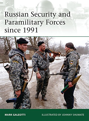 Russian Security and Paramilitary Forces since 1991 (Elite) [Mark Galeotti] (Tapa Blanda)