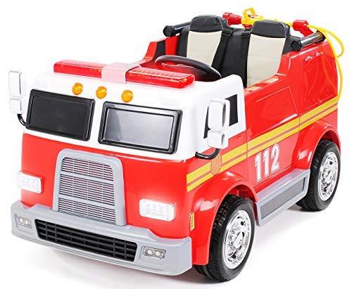 Kinder Elektroauto Feuerwehr - Actionbikes Elektroauto Feuerwehr Kinder