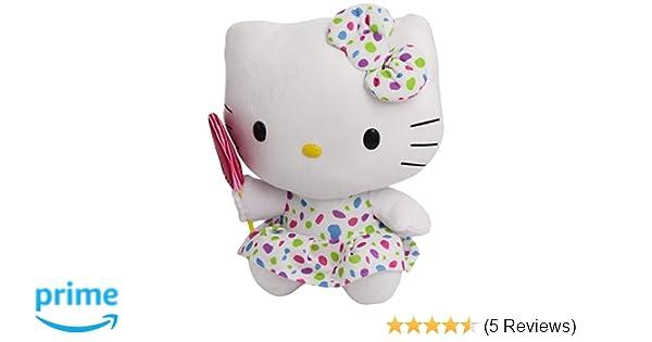 Amazon.com: Ty Beanie Buddies Hello Kitty Lollipop Medium Plush: Toys & Games