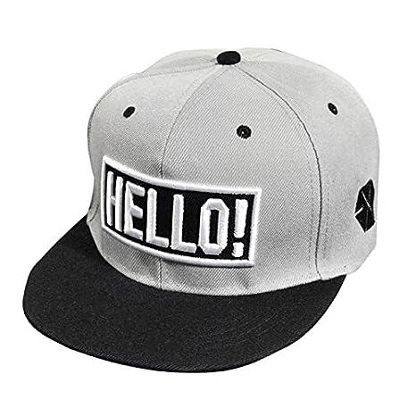Unisex Hip-Hop Ni/ños Ni/ñas Gorra de b/éisbol Snapback Viseras Verano Bordado Ajustable Hats de Malla SUNNSEAN Hiphop Baseball Cap Gorras Beisbol Verano Moda Sombreros Planos