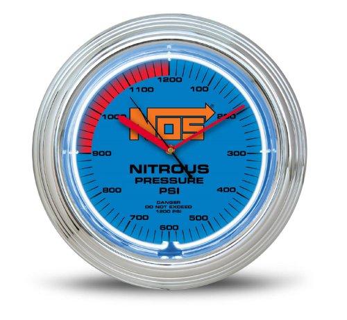 NOS 19352NOS NOS Neon Wall Clock