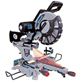 King Canada 8390N 12-Inch Sliding Dual Compound Miter Saw with Twin Laser