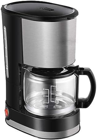 Y&J Máquina De Café con Filtro Diseño Antigoteo Base De Dispositivo para Cafetera con Superficies De Acero Inoxidable Cepillado Contenedor De Filtro Extraíble: Amazon.es: Hogar