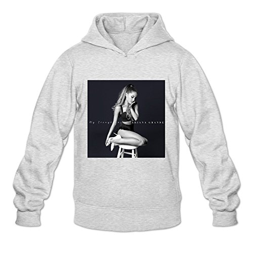 My Everything Ambom 100% Cotton Hoodies For Men Ash Size L -
