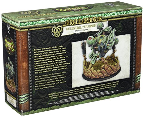 Privateer Press - Hordes - Circle Orboros: Celestial Fulcrum Battle Engine Model Kit 4