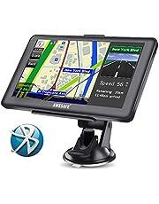 GPS Voiture Auto Europe 7 Pouces Ecran Tactile Cartographie Europe 48 à Vie Mises à Jour gratuites de la Carte