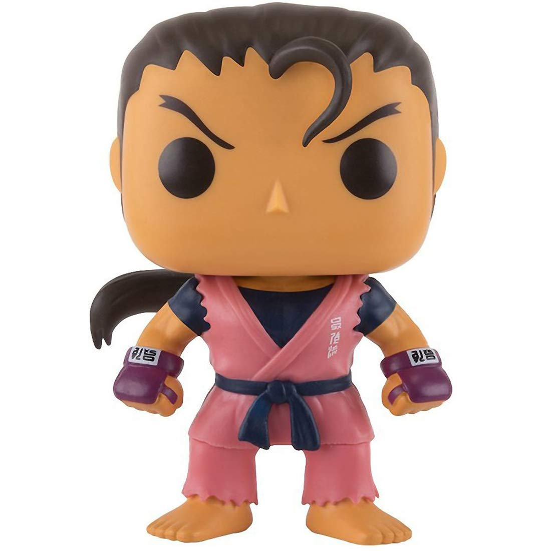 Compatible PET Plastic Graphical Protector Bundle BCC9U5072 Games Vinyl Figure /& 1 POP Funko Dan: Street Fighter x POP #142 // 11659 - B
