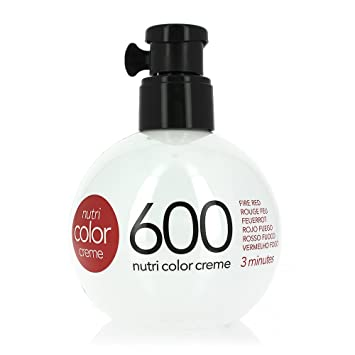 Revlon Nutri Color Creme Nr600 Feuerrot 250 Ml Amazonde Beauty