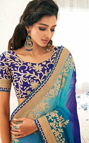 Bollywood Wear Party Desgner Jay Sarees Saree 5wqY7SU