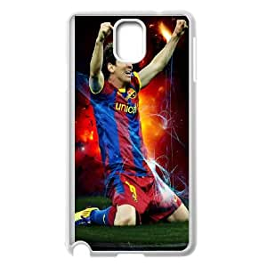 Samsung Galaxy Note 3 Cell Phone Case White_Lionel Messi Yqlth