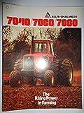 Allis Chalmers 7040 7060 7080 Tractor Sales Brochure 11/76