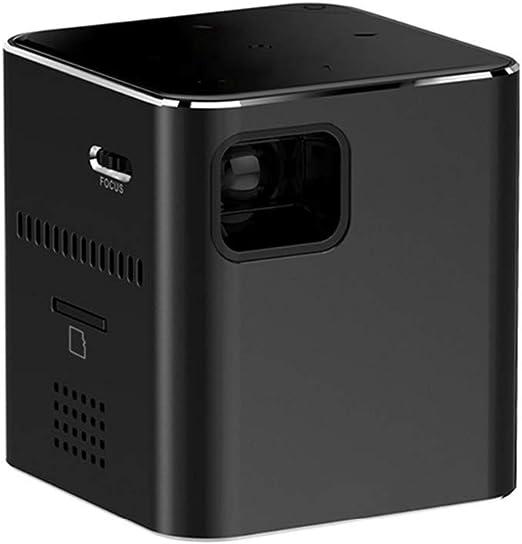 YTBLF Mini proyector portátil Proyector DLP 80 Anxi Lumen WiFi MAX ...