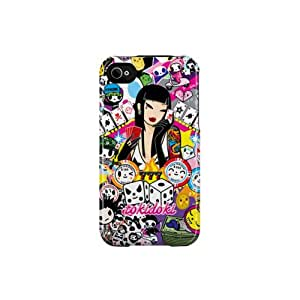 Uncommon C0004-AJ tokidoki Lucky 777 Capsule - Carcasa para Apple iPhone 4/4S