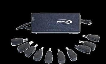 Primux Tech PCA-120 - Cargador de portátil de 120 W, automático [España]: Amazon.es: Informática