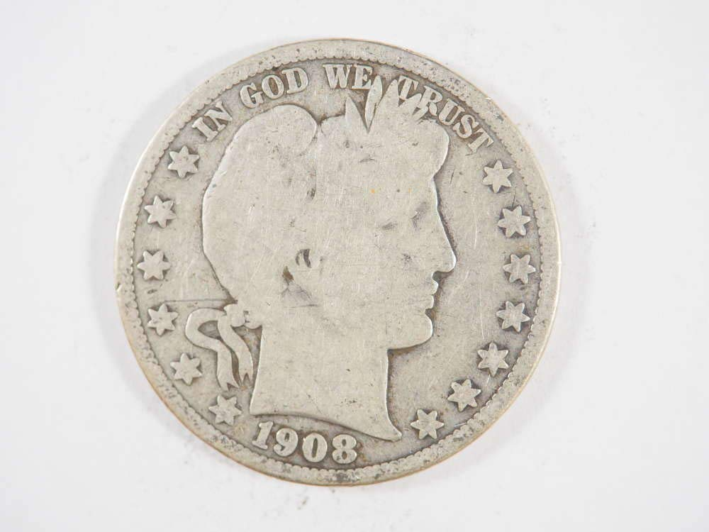 1899 Barber Dime 90/% Silver Good GD