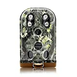EREAGLE Trail Camera HD 1080P 12MP Game Hunting Cam with Night Vision 30m Waterproof IP68 940nm IR Big LED Time Lapse Camo for Wildlife Deer Hunting Forest Security