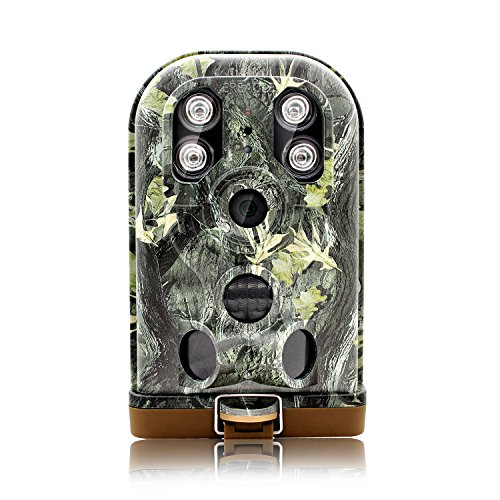 EREAGLE Trail Camera HD 1080P 12MP Game Hunting Cam with Night Vision 30m Waterproof IP68 940nm IR Big LED Time Lapse Camo for Wildlife Deer Hunting Forest Security by EREAGLE