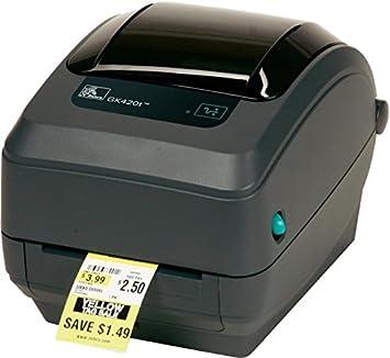 Zebra Impresora Térmica GK-420T: Amazon.es: Electrónica