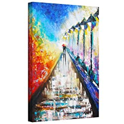 Art Wall Paris Sweethearts Gallery Wrapped Canvas Art By Susi Franco, 32 By 24-inch