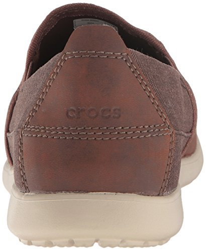 Cruz Mocassino Slip Espresso Mushroom on 10 Us M M Da Deluxe Santa Crocs Uomo 1wSYqHqf